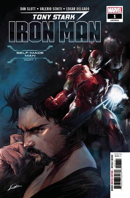 Marvel Tony Stark: Iron Man #1 Comic Book