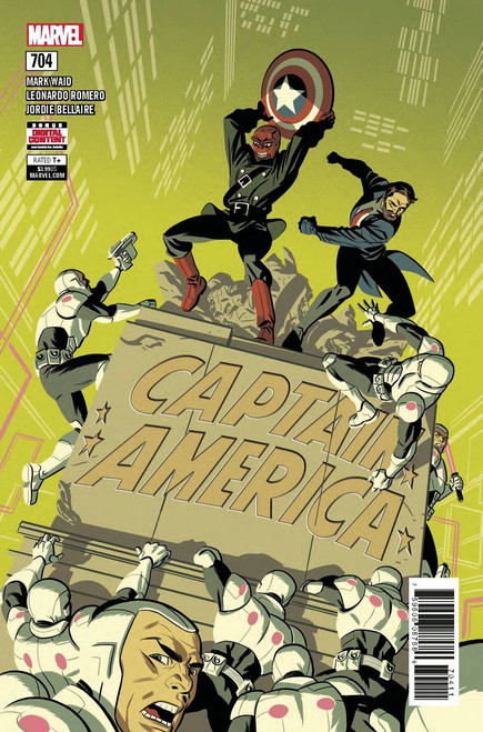 Marvel Captain America #704 Comic Book
