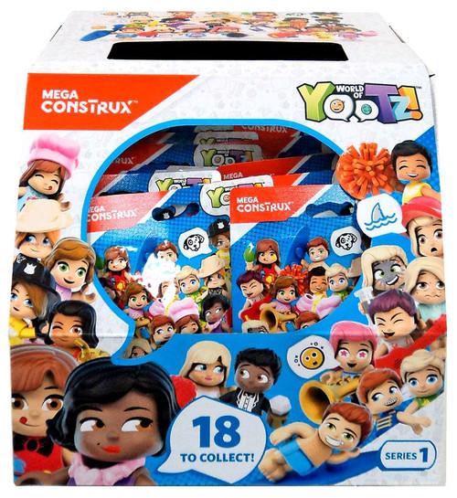 Mega Construx World of Yootz! Series 1 Mystery Box [32 Packs]