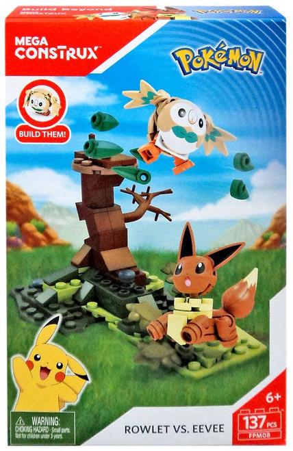 Pokémon Rowlet vs. Eevee Set