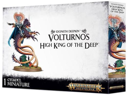 Warhammer Age of Sigmar Grand Alliance Order Idoneth Deepkin Akhelian King / Volturnos, High King of the Deep