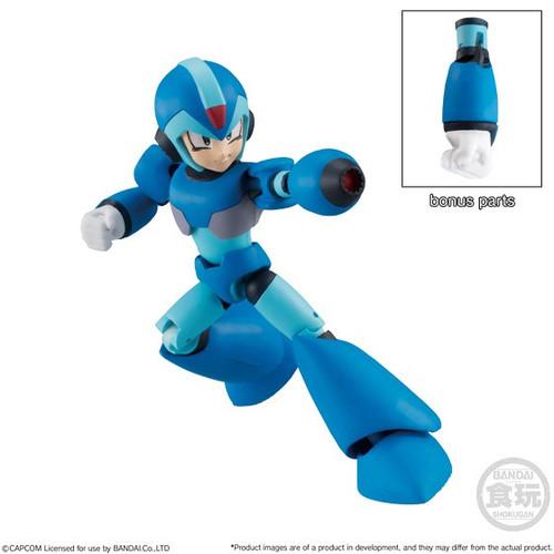 Mega Man Legends Shokugan 66 Action Series 2 X 2.6-Inch Trading Figure [Mega Man X]