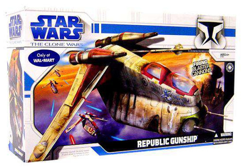 Star Wars Animated Republic Gunship Exclusive Vehicle