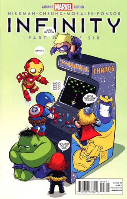 Marvel Comics Infinity #1 Comic Book [Young Variant Edition]