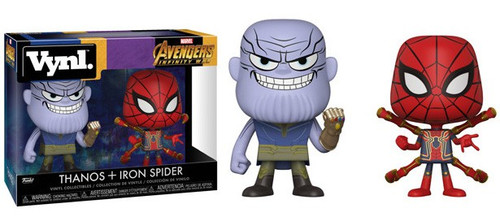 Funko Marvel Avengers Infinity War Vynl. Thanos & Iron Spider Vinyl Figure 2-Pack
