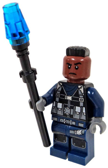 LEGO Jurassic World Fallen Kingdom Guard Minifigure [with Mohawk Loose]