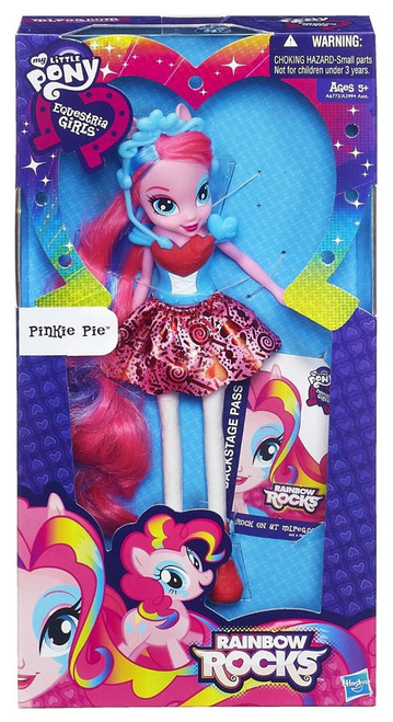 My Little Pony Equestria Girls Rainbow Rocks Basic Pinkie Pie 9-Inch Doll [Version 1, Damaged Package]
