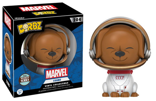 Funko Marvel Guardians of the Galaxy Dorbz Cosmo Exclusive Vinyl Figure #204 [Damaged Package, Specialty Series]