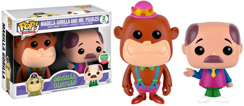 Funko Hanna-Barbera POP! Animation Magilla Gorilla & Mr. Peebles Exclusive Vinyl Figure [Neon, Damaged Package]