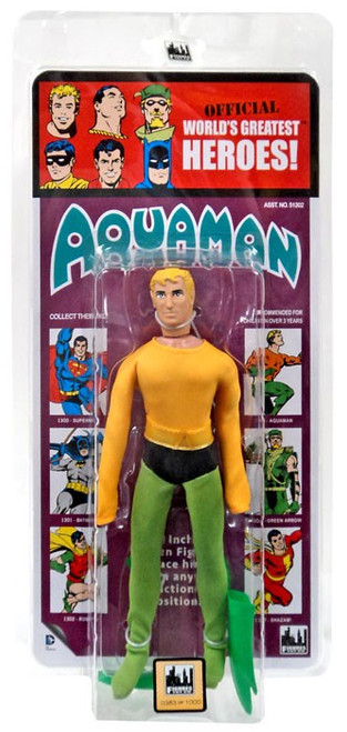 DC World's Greatest Heroes! Kresge Retro Style Series 2 Aquaman Retro Action Figure [Damaged Package]