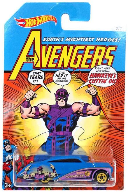 Hot Wheels Marvel The Avengers Purple Passion Diecast Car #2/7 [Hawkeye]
