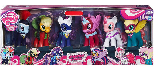 My Little Pony Friendship is Magic Power Ponies Exclusive Figure 6-Pack [Damaged Package]