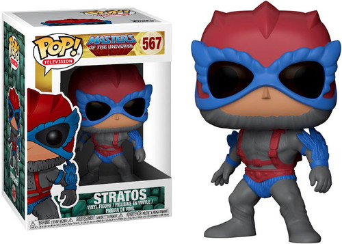 Funko Masters of the Universe POP! TV Stratos Vinyl Figure #567 [Damaged Package]
