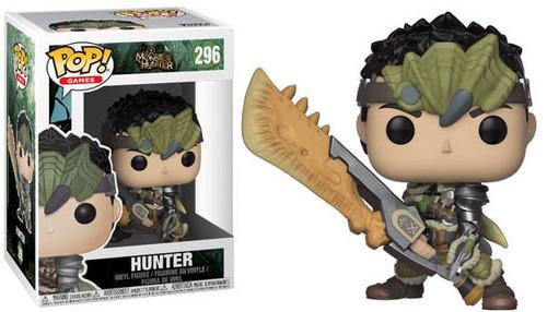 Funko Monster Hunter POP! Video Games Hunter Vinyl Figure #296 [Damaged Package]