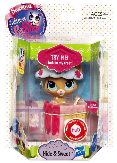 Littlest Pet Shop Sweetest Hide & Sweet Chipmunk Figure [Damaged Package]