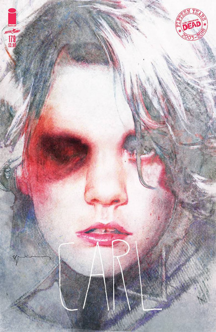 Image Comics The Walking Dead #179 Comic Book [Cover B Sienkiewicz]