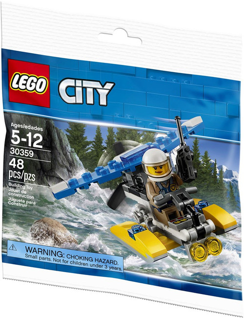 LEGO City Police Water Plane Mini Set #30359 [Bagged]