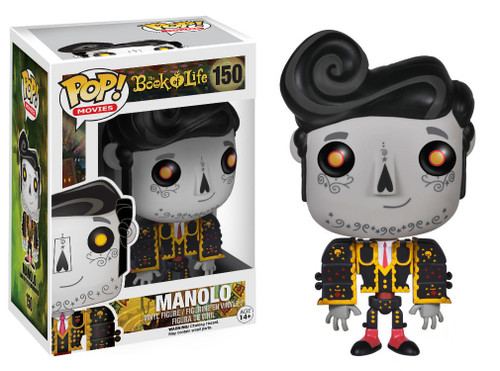 Funko The Book of Life POP! Movies Manolo Remembered Vinyl Figure #150 [Damaged Package]