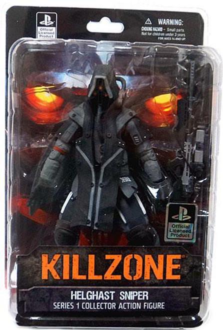 Killzone Series 1 Helghast Sniper Action Figure [Damaged Package]