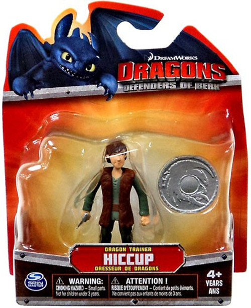 How to Train Your Dragon Dragons Defenders of Berk Hiccup 3-Inch Mini Figure [Damaged Package]