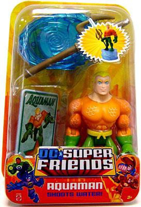 DC Super Friends Aquaman Action Figure [Damaged Package]