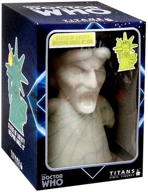 Doctor Who Weeping Angel Exclusive 8-Inch Vinyl Figure [Statue of Liberty, Damaged Package]