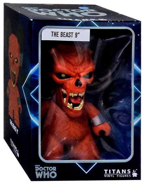 Doctor Who The Beast Exclusive 9-Inch Vinyl Figure [Damaged Package]