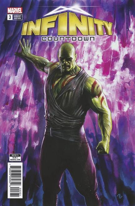 Marvel Comics Infinity Countdown #3 Comic Book [Drax Holds Infinity Variant]