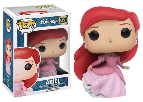 Funko Princess POP! Disney Ariel Vinyl Figure #220 [Glitter, Damaged Package]