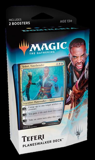 MtG Trading Card Game Dominaria Teferi, Timebender Planeswalker Deck