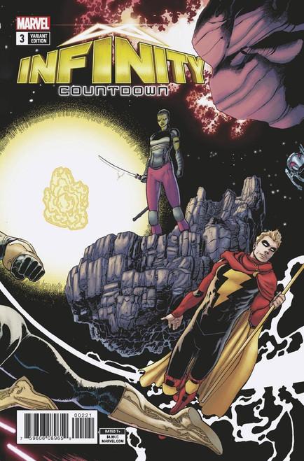 Marvel Comics Infinity Countdown #3 Comic Book [Kuder Connecting Variant]