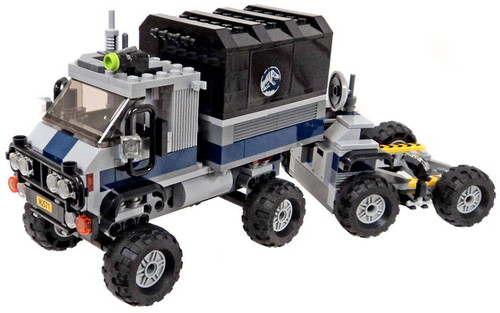 LEGO Jurassic World Fallen Kingdom Truck with a Trailer and Mobile Control Center [Loose]