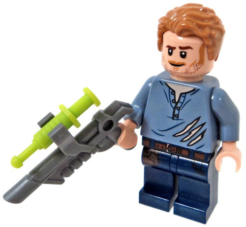 LEGO Jurassic World Fallen Kingdom Owen Grady Minifigure [with Tranquilizer Gun Loose]