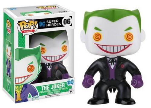 Funko DC Universe POP! Heroes The Joker Exclusive Vinyl Figure #06 [Black Suit, Damaged Package]