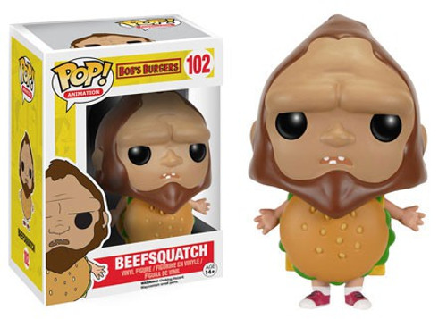 Funko Bob's Burgers POP! Animation Beefsquatch Vinyl Figure #102 [Damaged Package]