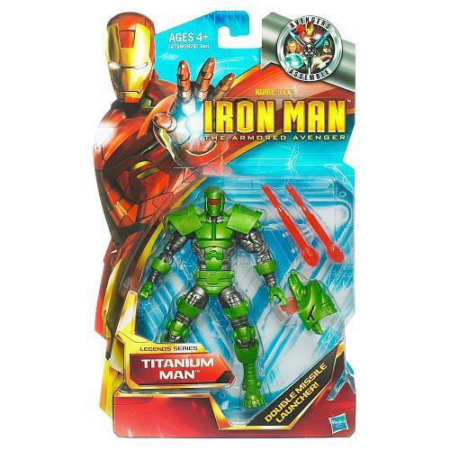 Iron Man The Armored Avenger Legends Series 6 Titanium Man Action Figure [Damaged Package]