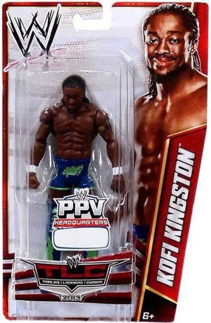WWE Wrestling Pay Per View TLC 2013 Kofi Kingston Exclusive Action Figure [Damaged Package]