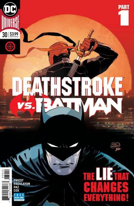 DC Deathstroke #30 Comic Book [2nd Print]
