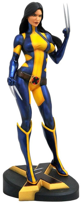 Marvel Gallery Wolverine / X-23 Exclusive 9-Inch PVC Figure Statue [Laura Kinney, Unmasked]