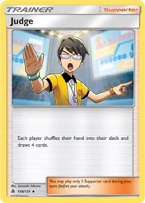 Pokemon Trading Card Game Forbidden Light Uncommon Judge #108