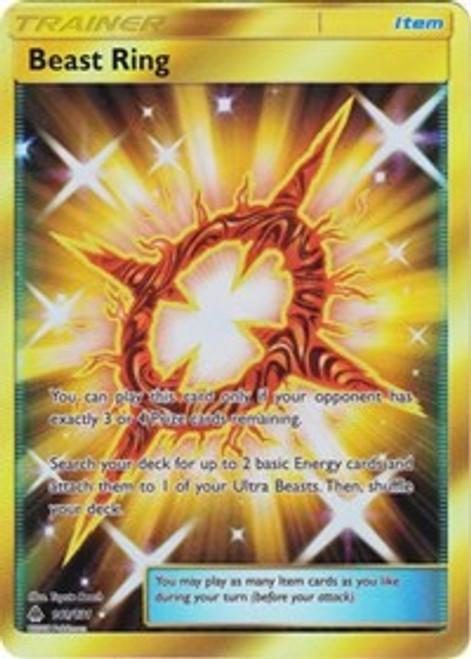 Pokemon Trading Card Game Forbidden Light Secret Rare Beast Ring #141