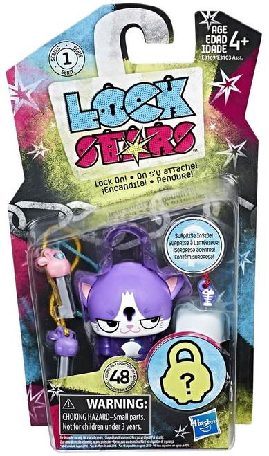 Lock Stars Series 1 Purple Cat Figure