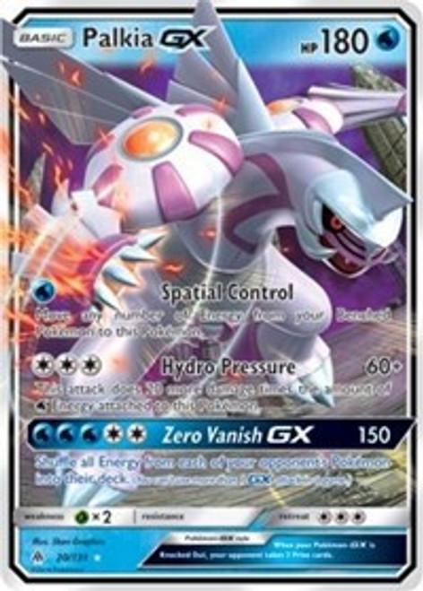 Pokemon Trading Card Game Forbidden Light Ultra Rare Palkia GX #20