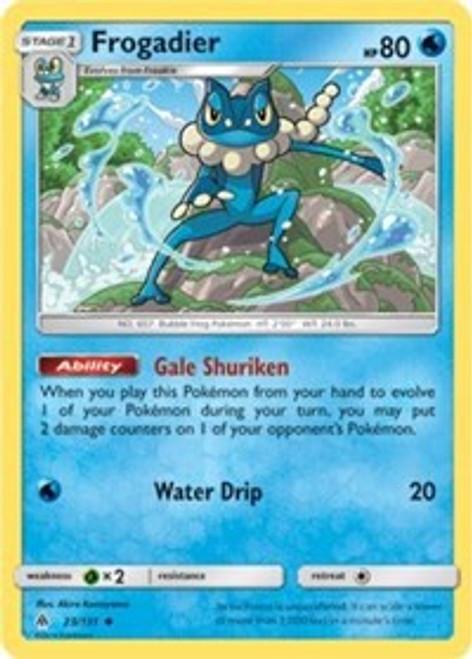 Pokemon Trading Card Game Forbidden Light Uncommon Frogadier #23