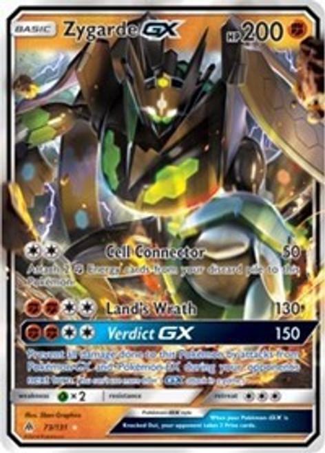 Pokemon Trading Card Game Forbidden Light Ultra Rare Zygarde GX #73