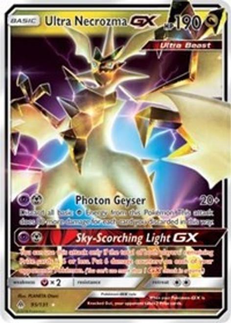 Pokemon Trading Card Game Forbidden Light Ultra Rare Ultra Necrozma GX #95