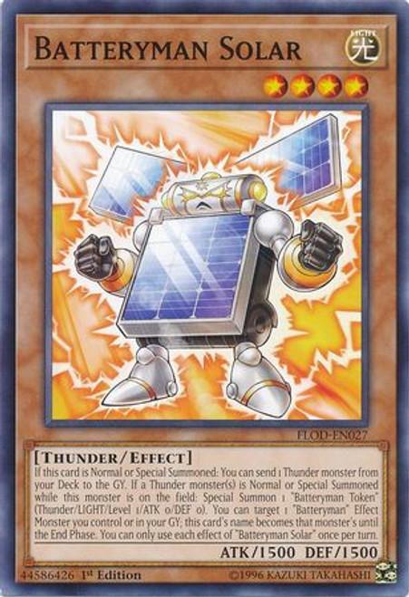 YuGiOh Flames of Destruction Common Batteryman Solar FLOD-EN027
