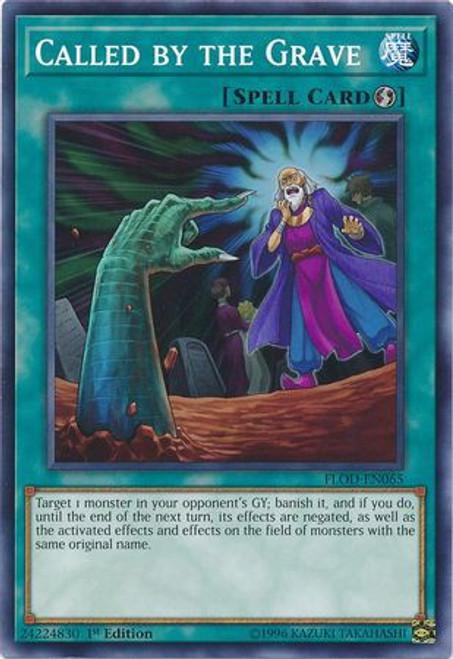 YuGiOh Flames of Destruction Common Called by the Grave FLOD-EN065