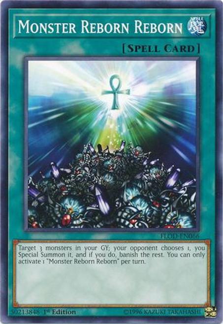 YuGiOh Flames of Destruction Common Monster Reborn Reborn FLOD-EN066
