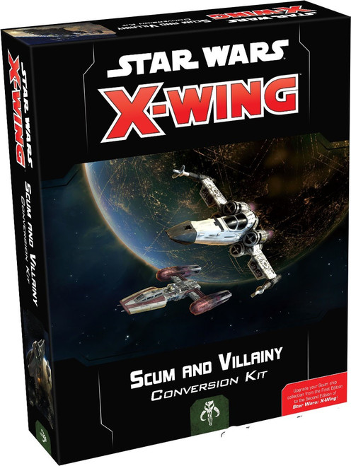 Star Wars X-Wing Miniatures Game Scum & Villainy Conversion Kit [2nd Edition]
